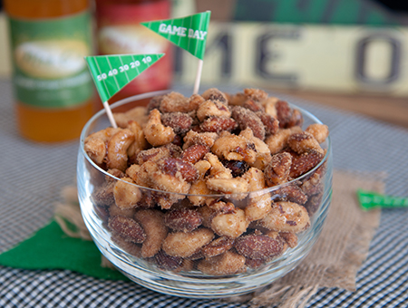 Game Day Spiced Nuts