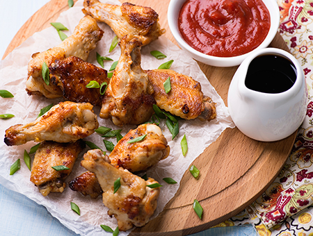 Mango Ginger Hot Wings