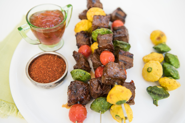 Smoky Spicy Skewers